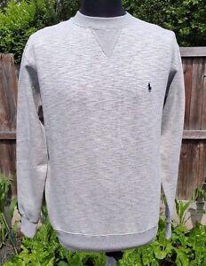 Ralph marinegroen Polo van Lauren M Herenfleece sweater katoen gwqOAx