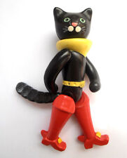 """1970s USSR Russian Soviet Character """"PUSS in BOOTS"""" Fairy Tale CELLULOID Toy"""