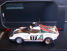 LANCIA STRATOS HF #17 SAFARI RALLY 1976 PRESTON LYALL HPI 8296 1/43 ALITALIA