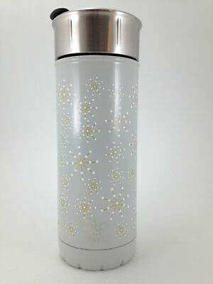 S Ip By S Well Snowflake 16oz Vacuum Insulated Stainless Steel Travel Mug New Ebay
