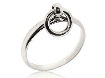 925 Sterling Silver Circle Round Band Thumb Finger Rings