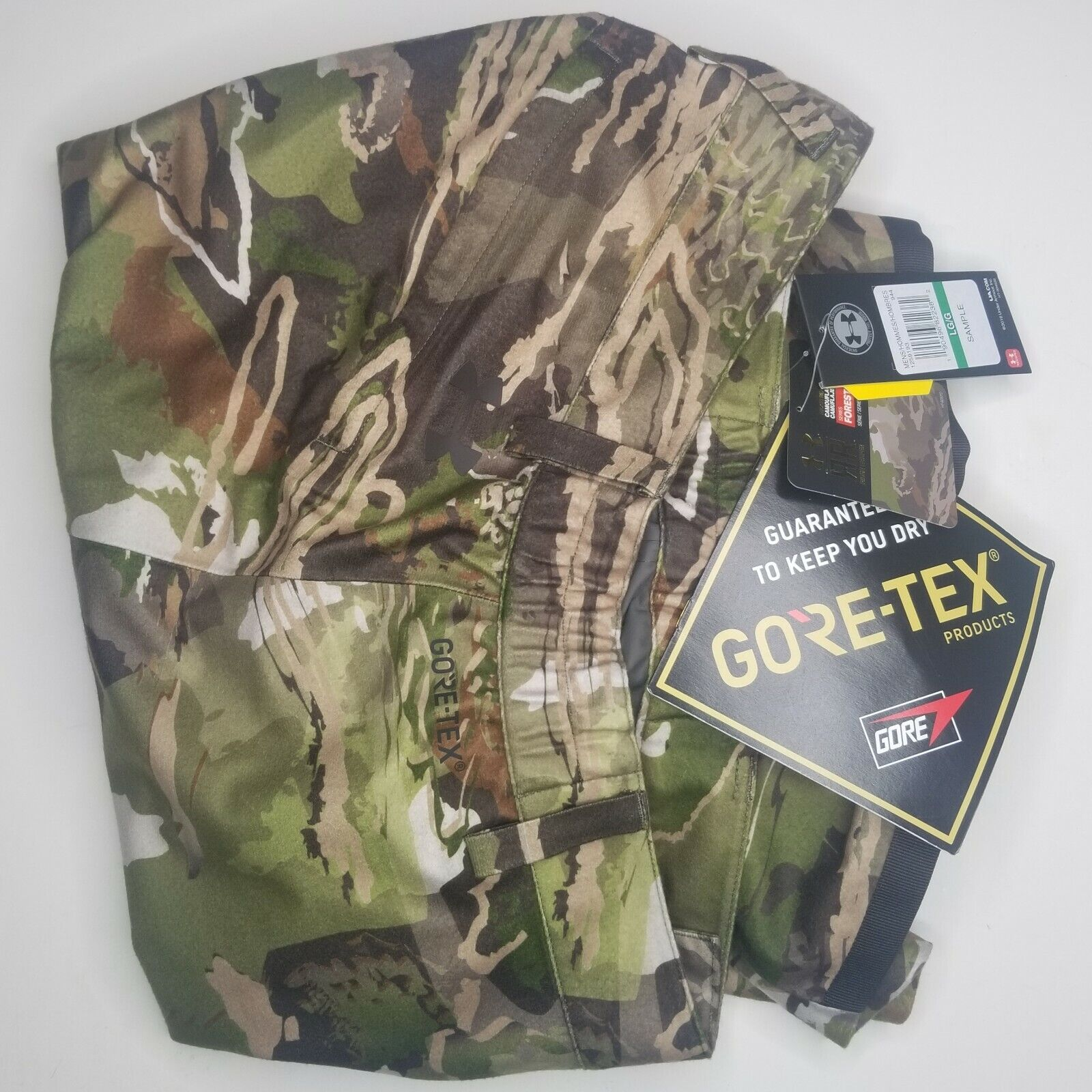 Under Armour SZ M//L//XL// Ridge Reaper Windstopper Goretex Vest Barren Camo Fitted