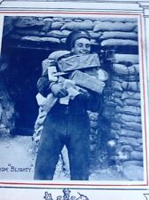 74-4 Ephemera Ww1 1916 Picture Soldier With Presents From Blighty