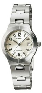 Casio-LTP1241D-7A2-Women-039-s-Metal-Fashion-with-Date-Silver-Dial-Analog-Watch