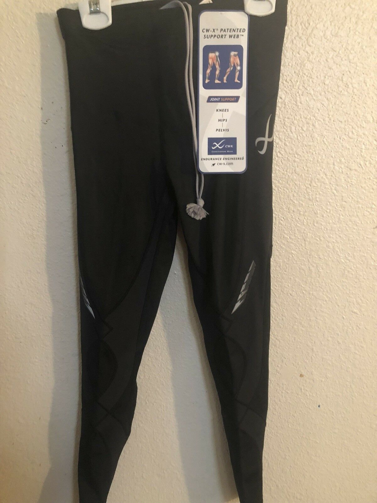 CWX Wacoal donna Conditioning Wear Long Tights Stabilyx Model HZY149 New FS