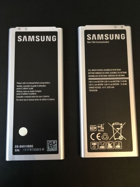 Samsung Akku für Galaxy Note 4 3220 mAh SM-N910C EB-BN910BBE 2017 Batterie NEU