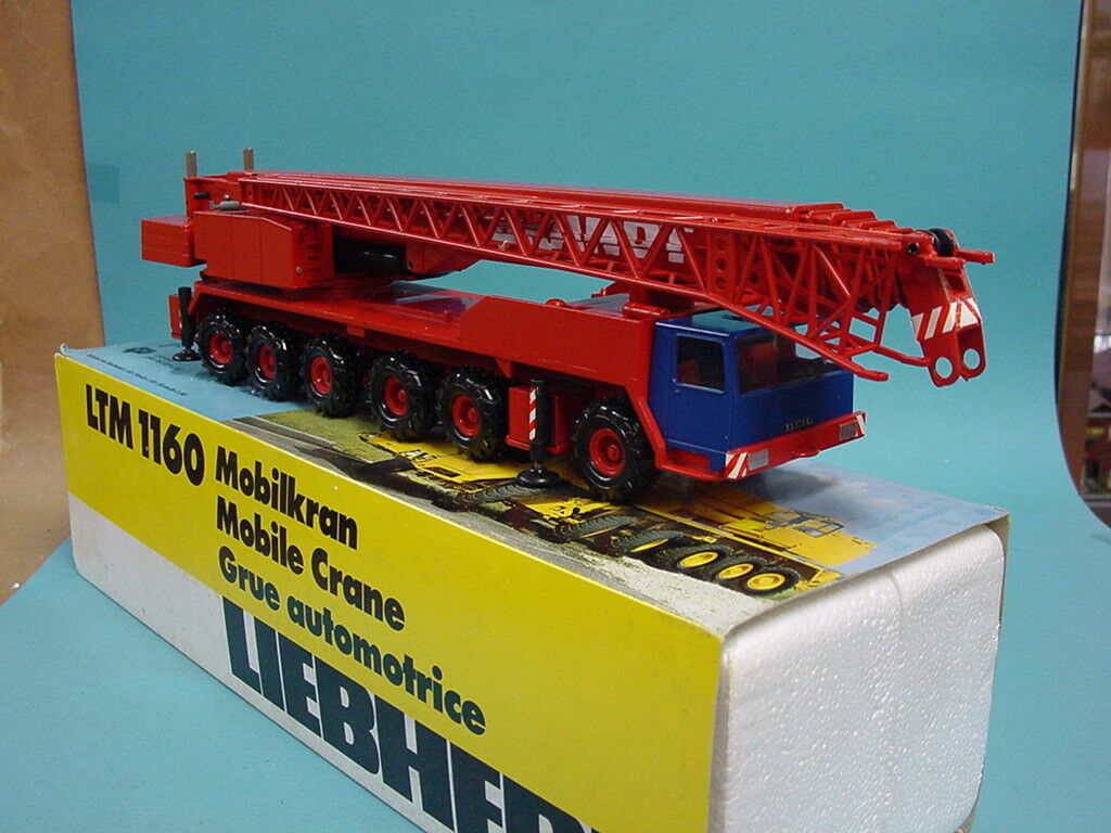 Conrad 2082 1:50 grue mobile LTM LTM LTM 1160 Liebherr Brandt/Top  neuf dans sa boîte | Bonne Réputation Over The World  24a267