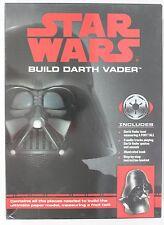 """Star Wars Build a Darth Vader 3D Paper Model Kit #13654 12"""" Tall W/Audio & Book"""