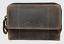 Indexbild 1 - Geldbörse Tribal Naturleder Büffelleder Damenbörse Geldbeutel Portmonai Robust
