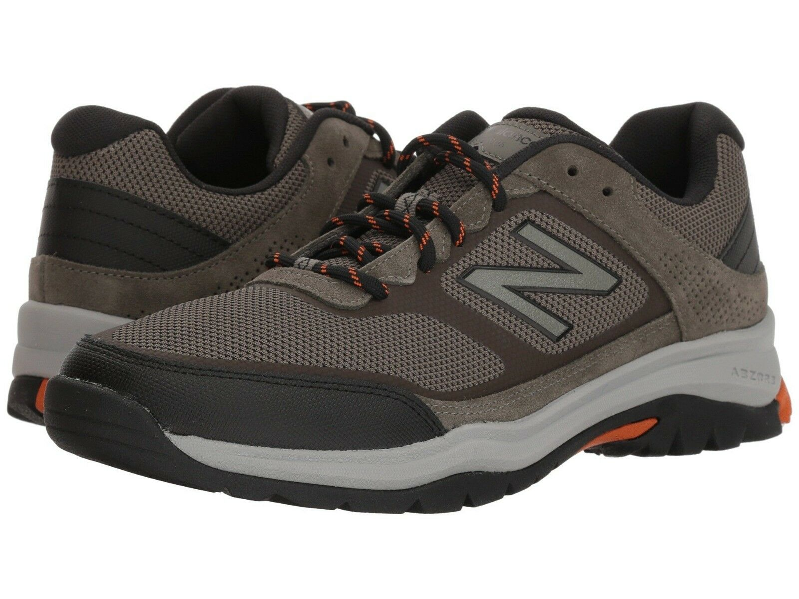 NEW Mens New Balance 669v1 Military Green Black Leather Athletic Hiking shoes