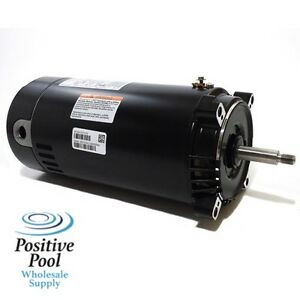 Hayward super pump 1 hp ust1102 swimming pool pump century for Swimming pool pump motors