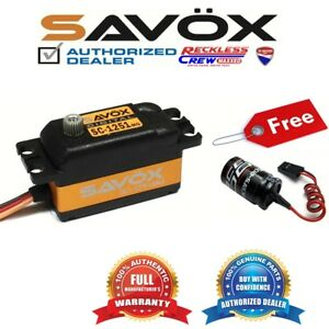 Savox-SC-1251MG-High-Speed-Low-Profile-Servo-Free-Glitch-Buster