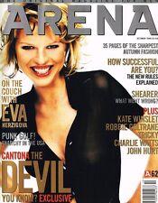 ARENA #62 10/1996 EVA HERZIGOVA Kate Winslet ERIC CANTONA John Hurt SEX PISTOLS
