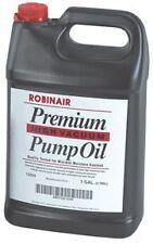 Robinair Premium High Vacuum Pump Oil, Gallon part ROB 13204