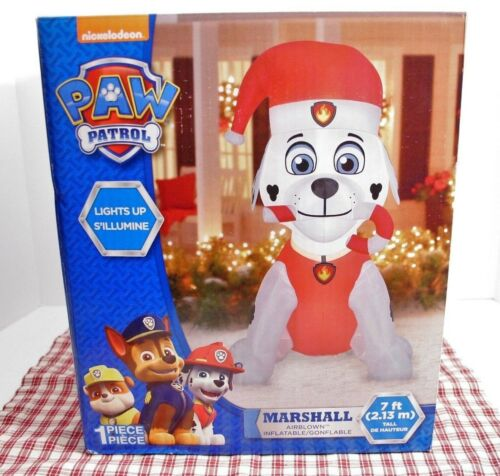 7 FT Gemmy PAW PATROL Dog Airblown MARSHALL Light Up Inflatable Christmas NIB