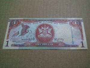 1 dollar Trinidad and Tobago banknote unc