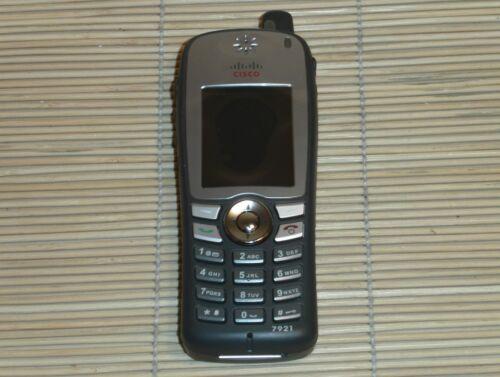 1 von 1 - Cisco CP-7921G-E-K9 Unified Wireless IP Phone Telefon with CP-BAT-7921G-STD