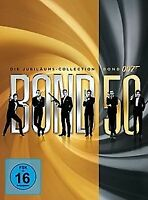 JAMES BOND 50 Jubiläums-Collection 22 DVDs Spielfilme Filme Goldeneye DVD Set