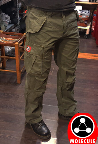 Molecule Long Pants Cargo Army Trousers Strong Material Cotton Top Quality Green