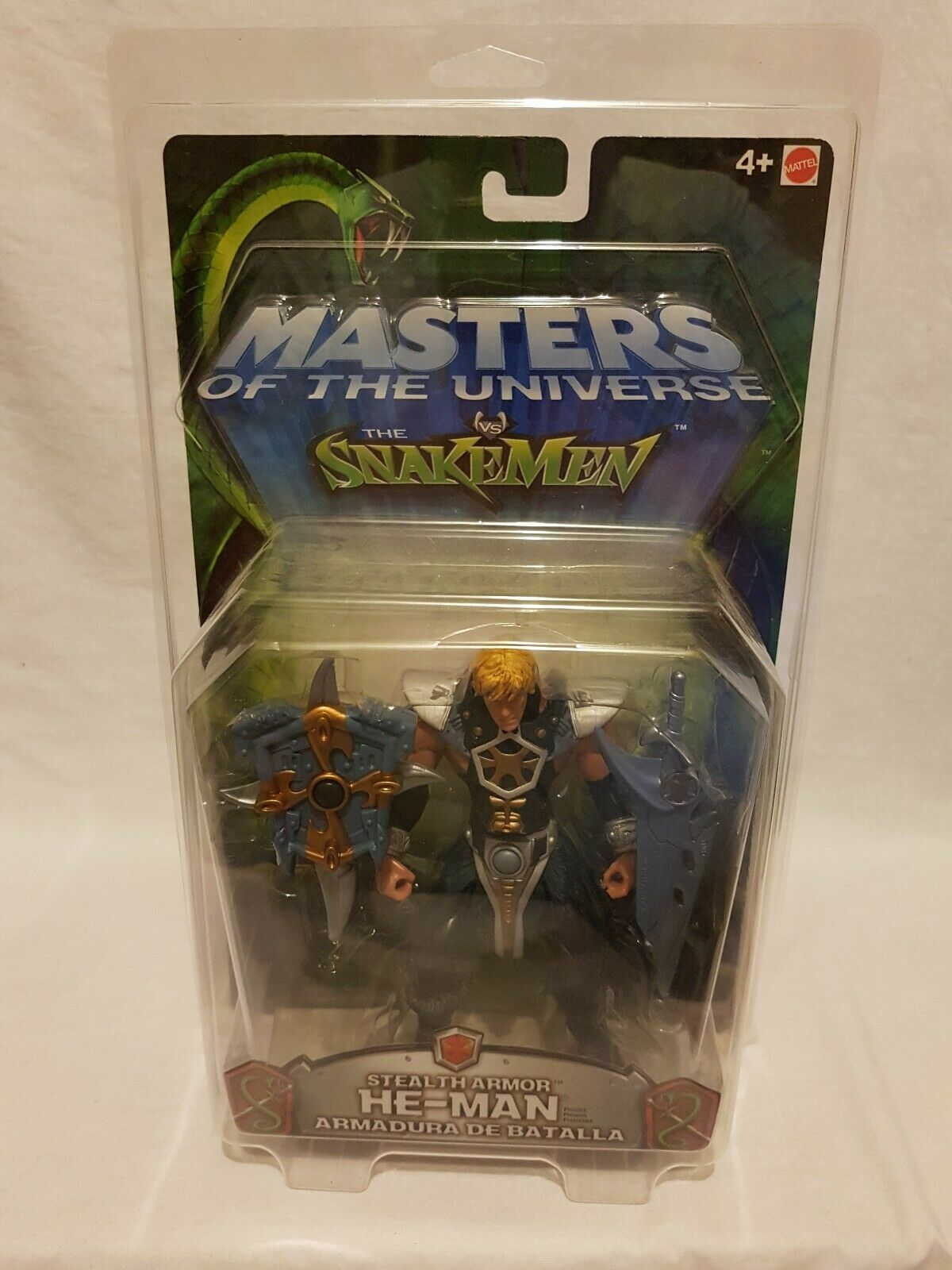 Masters Of The Universe The Snakemen He-Man Figure Mattel 2003 Aus Seller