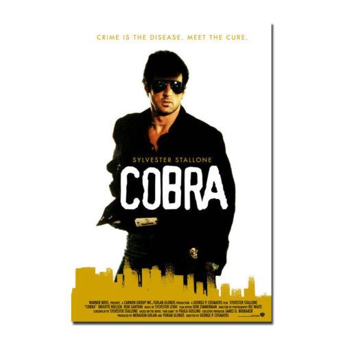 COBRA Poster Art Silk Fabric Movie Poster 13x20 32x48 inch J555