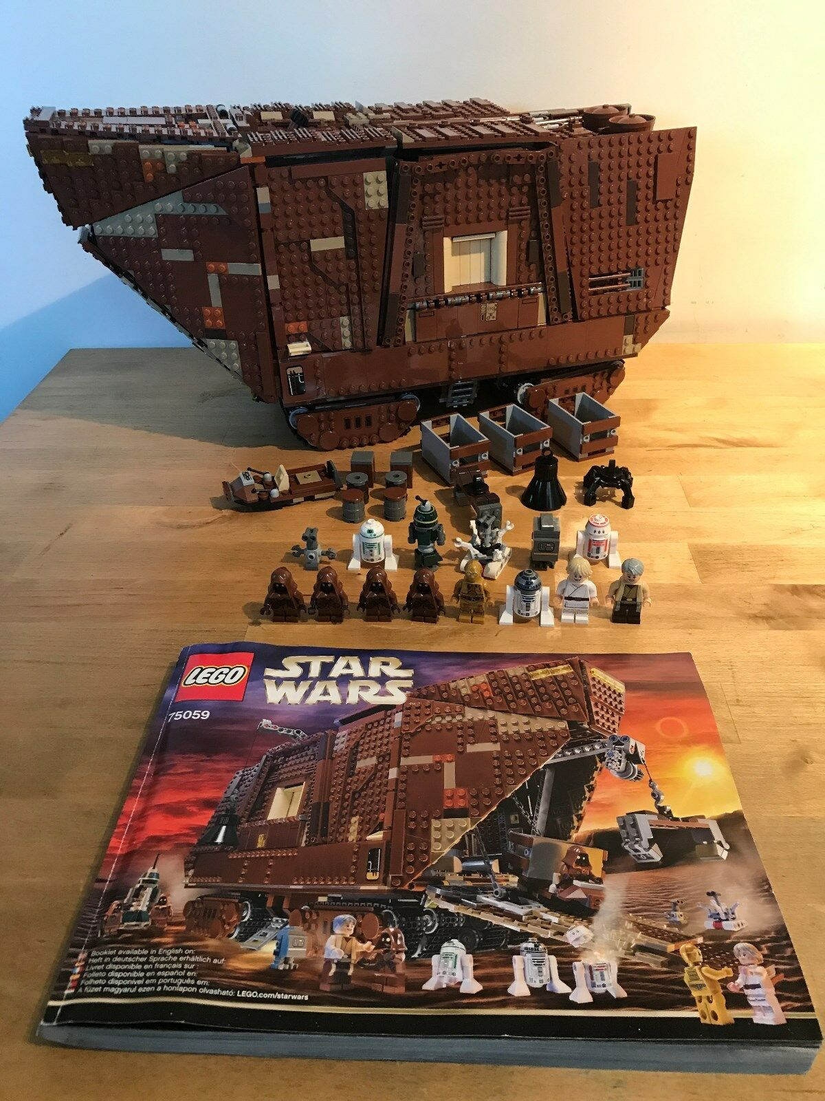 LEGO Star Wars 75059-UCS Sandcrawler (inscatolato)