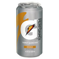 Gatorade Thirst Quencher Can Orange 11.6oz Can 24/carton 00902 on sale
