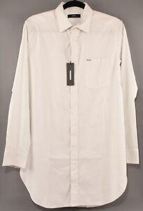 DIESEL-Men-039-s-S-FILT-Light-Green-Cotton-Shirt-SMALL