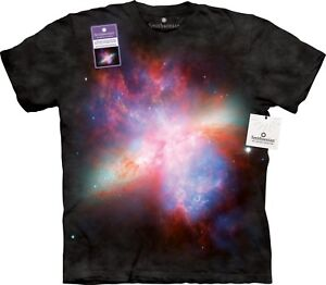 Starburst Galaxy Space T Shirt Adult Unisex The Mountain