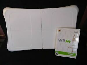 Wii Fit Game with Wii Fit Balance Board - Tested & Working