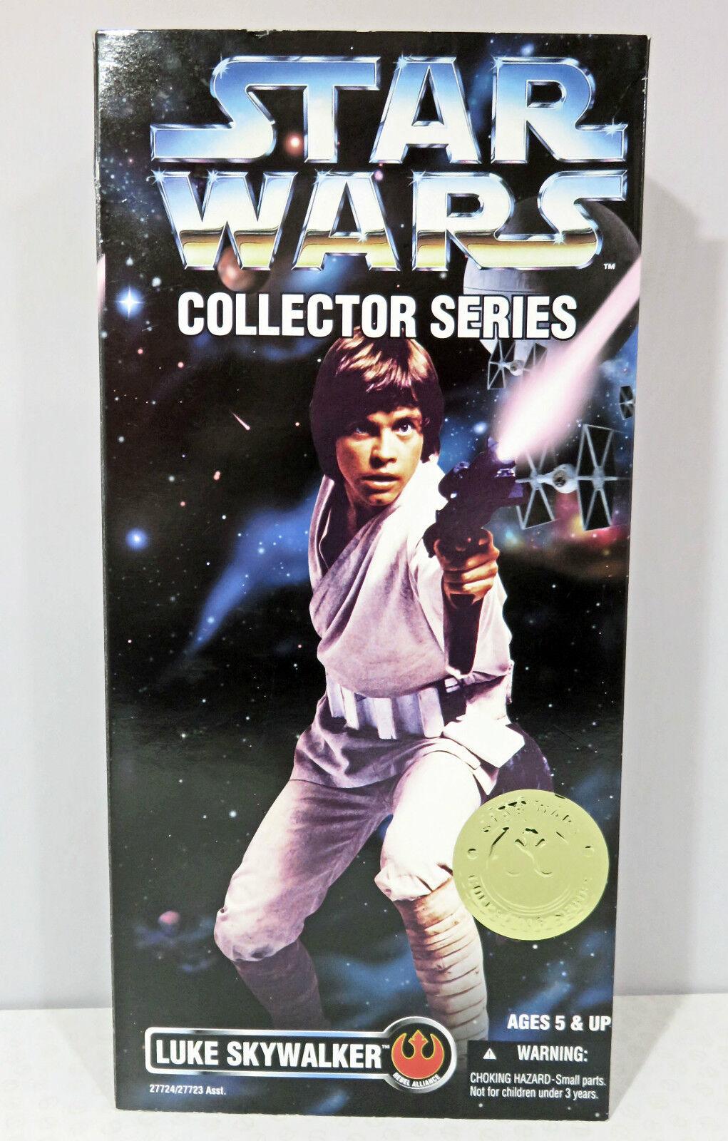 STAR Wars da collezione Series 12 Inch Luke Skywalker ACTION FIGURE KENNER 1996