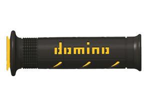 Revetements-poignee-DOMINO-A250-XM2-Super-Soft-noir-jaune