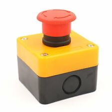 Emergency Stop Switch Push Button Weatherproof Push Button Switch 660v With Box