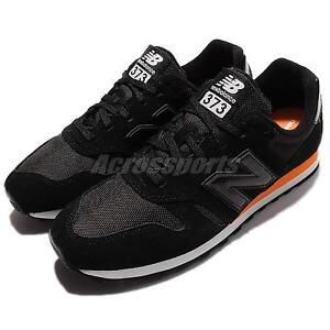 New Balance ML373MB D Black Orange White Men Running Shoes Sneakers ML373MBD