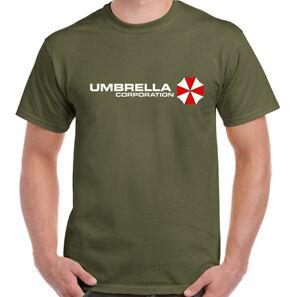 Umbrella-Corporation-Hombre-RESIDENT-EVIL-Camiseta-Inspiracion-Zombie-asesino