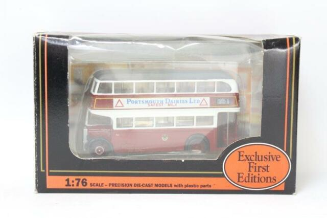 EFE 16109 Leyland PD2 Highbridge Portsmouth Diecast Bus 1/76 BOXED S26