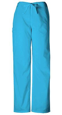 Scrubs Cherokee Workwear Men/'s Drawstring Pant 4100 MABW Mali-Blu Free Shipping