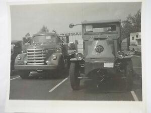 1924-AC-Mack-y-1956-Diamante-034-Altura-034-Camion-en-el-Aths-Sacramento-Foto