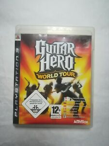 Guitar Hero: World Tour Video Game (Sony PlayStation 3, 2008)
