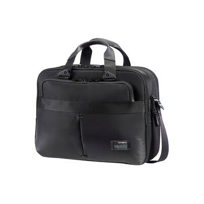 NEW Samsonite 59557-1465 City Vibe Laptop Briefcase Jet Black 1.2kg