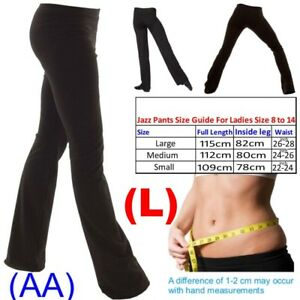 Ladies-Girls-Boys-Men-Dance-Cotton-Spandex-Jazz-Pants-Trousers-AA