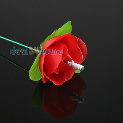 Close Up Magic Stage Trick Torch To Rose Flames Rose Propose's Tool Popular Game