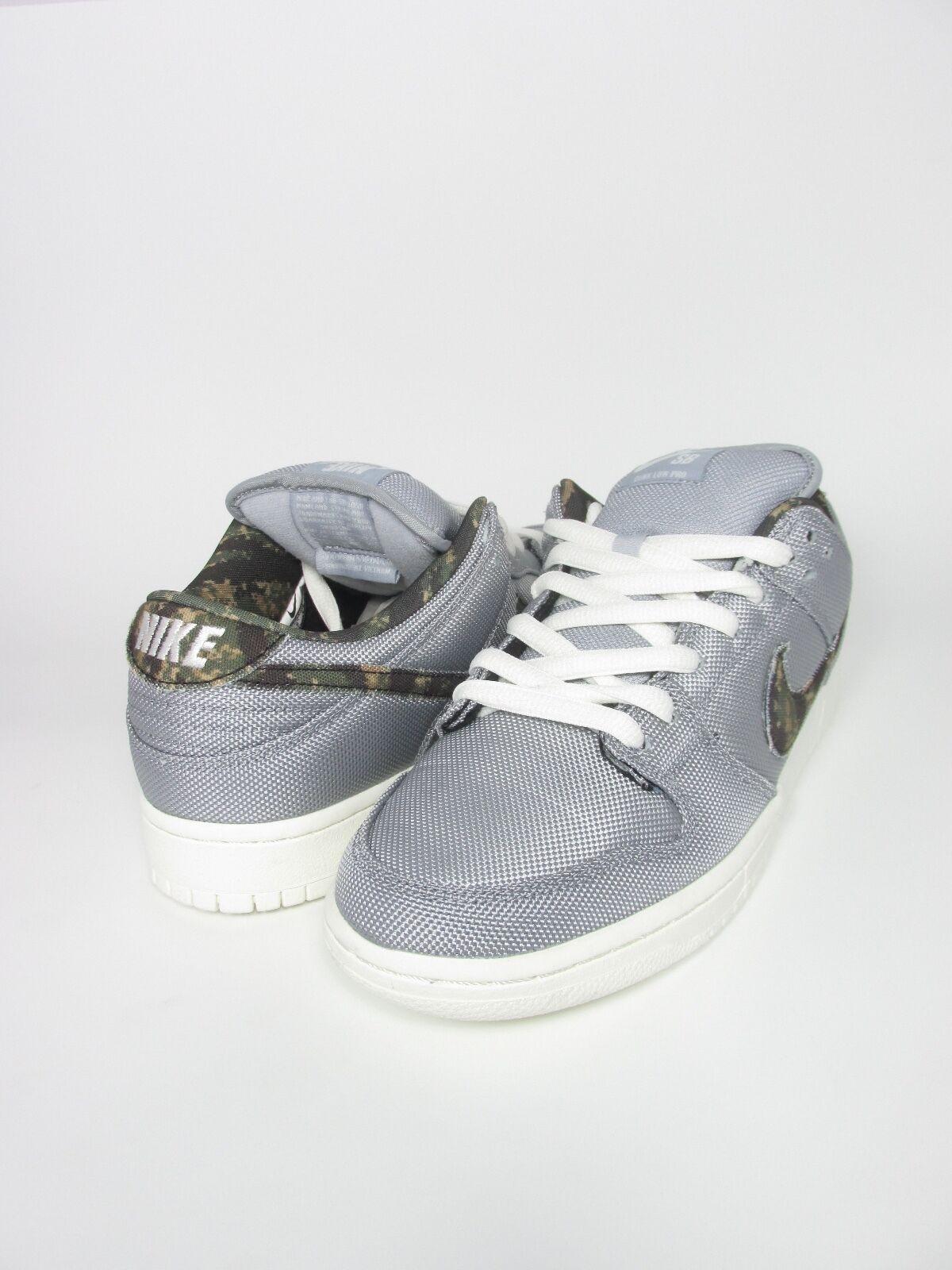 Nuevos gris Hombres Nike Dunk Low pro Skate lobo gris Nuevos oliva 304292054 media vela 05697e