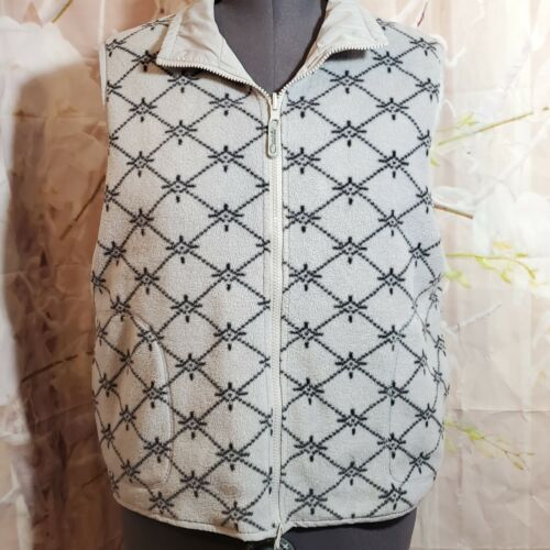 Reversable catalina vest XL 16/18 gray pattern (2)