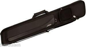 Predator-Sport-3x4-Soft-Pool-Cue-Case-CSP3x4B-Black-Embossed-Soft-Cue-Case