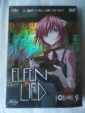 // NEUF ** Elfen Lied ** – coffret Volume 4 / 4 Mamoru Kanbe DVD MANGA VF SERIE
