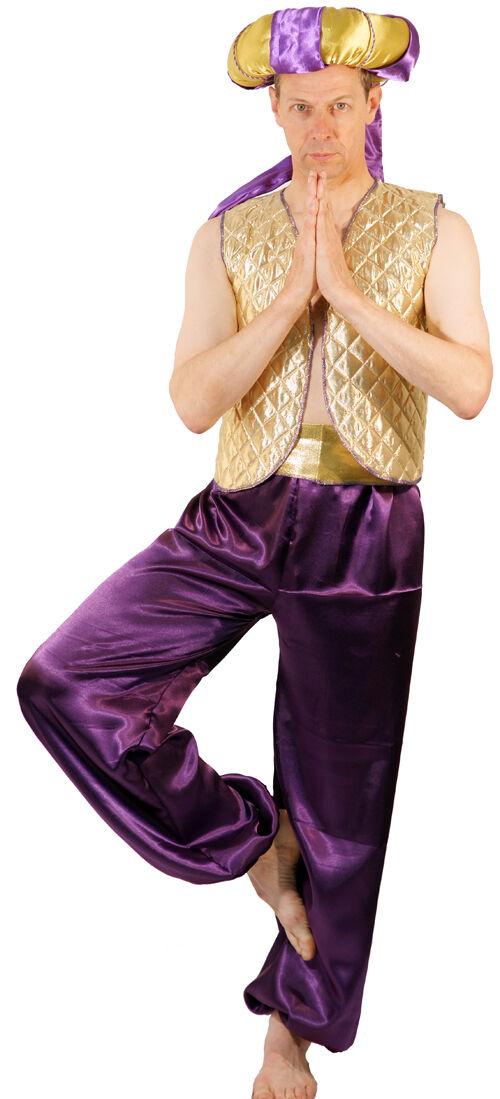 Alladin - Panto held-genie der Lampe Maskenkostüm alle Größen Größen Größen sml-xxxxl | Schön und charmant  bbe582