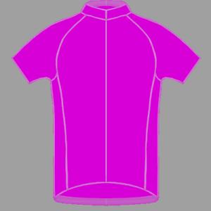 Genuine bluecher Single color Cycling Jersey Shirt - No  Logos No Writing  Purple  100% fit guarantee