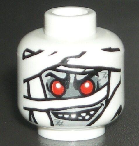 LEGO Mummy Minifigure Head Halloween Figure 9462