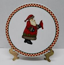 item 1 Sakura Round Platter Tray Magic of Santa Stoneware by Debbie Mumm Red Cardinal -Sakura Round Platter Tray Magic of Santa Stoneware by Debbie Mumm Red ...  sc 1 st  eBay & Sakura Magic of Santa Stoneware by Debbie Mumm Christmas Dinnerware ...